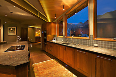 House in Telluride, Co, lighting design byLacroux Streeb, Landscape Architecture by Mohr and Associa