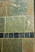 Slate Wall, Green Black, Brown Textured