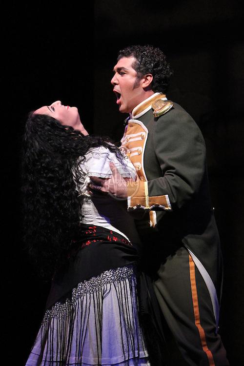 Seattle Opera's production of Carmen.