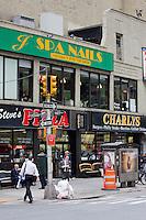 street scene in New York October 2008