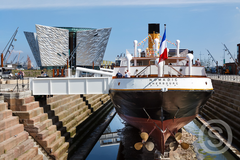 Photographer: Paul Lindsay, Nomadic, titanic Belfast