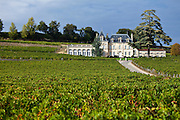Chateau Fonplegade in the town of St Emilion, Bordeaux, France