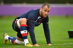 Giorgi Nemsadze of Bristol United - Mandatory by-line: Paul Knight/JMP - 22/09/2017 - RUGBY - Clifton RFC - Bristol, England - Bristol United v London Irish 'A' - Aviva A League