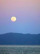 Moonrise over Cape Cleveland, Townsville, Queensland, Australia