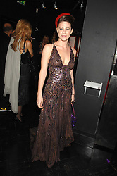 FRANCESCA VERSACE at Andy & Patti Wong's Chinese new Year party held at County Hall and Dali Universe, London on 26th January 2008.<br />