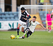 Inverness&rsquo; Brad McKay fouls Dundee&rsquo;s Faissal El Bakhtaoui  - Dundee v Inverness Caledonian Thistle in the Ladbrokes Scottish Premiership at Dens Park, Dundee, Photo: David Young<br /> <br />  - &copy; David Young - www.davidyoungphoto.co.uk - email: davidyoungphoto@gmail.com
