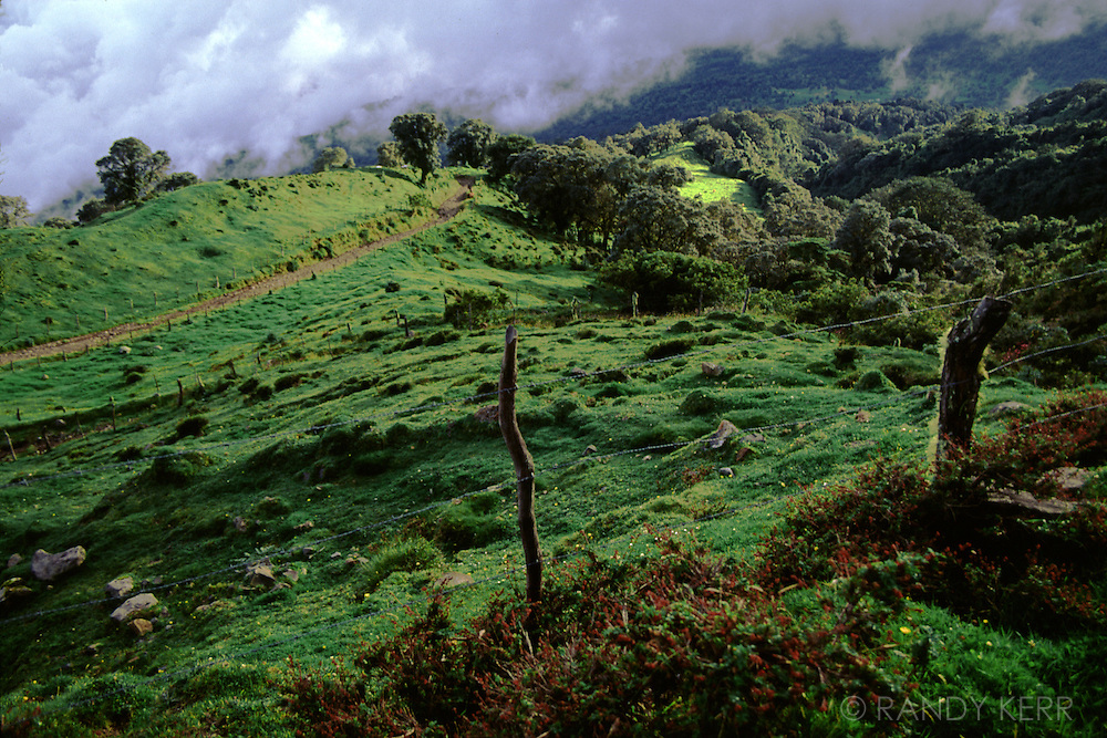 Costa Rica's volcanic landscape
