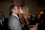 A.A. GILL; ELLE MACPHERSON, Graydon Carter hosts a diner for Tom Ford to celebrate the London premiere of ' A Single Man' Harry's Bar. South Audley St. London. 1 February 2010