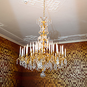 NLD/Den Haag/20190703 - Bezichtiging kamers paleis Huis ten Bosch, De DNA Salon met DNA profielen van het Koninklijk Gezin
