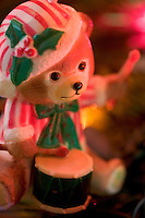 Drummer Bear Christmas Tree Ornament