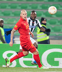 06.12.2012, Stadio Friuli, Udine, ITA, UEFA EL, Udinese Calcio vs FC Liverpool, Gruppe A, im Bild Martin Skrtel (# 37, Liverpool FC), Pablo Armero (# 27, Udinese Calcio)   // during the UEFA Europa League group A match between Udinese Calcio and Liverpool FC at the Stadio Friuli, Udinese, Italy on 2012/12/06. EXPA Pictures © 2012, PhotoCredit: EXPA/ Juergen Feichter