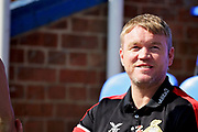 Doncaster Rovers manager Grant McCann before the EFL Sky Bet League 1 match between Peterborough United and Doncaster Rovers at London Road, Peterborough, England on 1 September 2018.