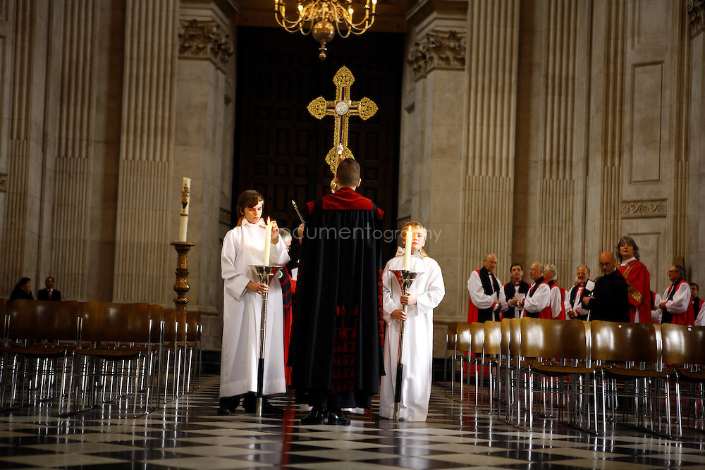 The Consecration of the Bishop of Repton at St Paul's Cathedral.