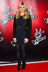 MAR 11 2013  The Voice press launch, London, UK