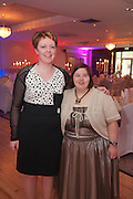 Patricia Mannion & Nicola Brennan, Tuam at the Ability WestBest Buddies ball at the Menlo Park Hotel, Galway. Photo:Andrew Downes Photography.