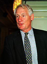 LORD BUTLER OF BROCKWELL at a lunch in London on 15th October 1999.<br /> MXW 81