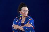 Edinburgh International Book Festival 2013 portrait of Melinda Gebbie at Charlotte Square Garden <br /> <br /> Pic by Pako Mera