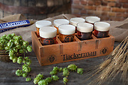 Tuckerman Brewing,Conway,New Hampshire studio photo shoot for Mount Washington Valley Vibe magazine. Beer photography for an editorial about Craft Brewers in New Hampshire and Maine