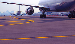 Jet Passenger  Planes, Taxiway,