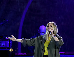 18.03.2017, Planai-Stadion, Schladming, AUT, Special Olympics 2017, Wintergames, Eröffnungsfeier, im Bild die deutsche Sängerin Helene Fischer // German singer Helene Fischer during the opening ceremony in the Planai Stadium at the Special Olympics World Winter Games Austria 2017 in Schladming, Austria on 2017/03/17. EXPA Pictures © 2017, PhotoCredit: EXPA / Martin Huber