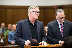 Alec Baldwin takes a plea in front go the judge in Manhattan Criminal Court part C after an incident involving a parking took place in early November. As part fo the plea deal Baldwin has to pay a fine and attend a short anger management class. **NO NEW YORK DAILY NEWS, NO NEW YORK TIMES, NO NEWSDAY**. 23 Jan 2019 Pictured: Alec Baldwin. Photo credit: Erik Thomas/NY Post/MEGA TheMegaAgency.com +1 888 505 6342