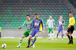 during football match between NK Olimpija and NK Maribor in firs leg of quarter-final of Slovenia Cup, on February 27, 2013 in Stadium Stozice, Ljubljana, Slovenia. (Photo by Urban Urbanc / Sportida.com)