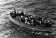 Titanic survivors. 1912