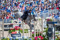 DE LUCA Lorenzo (ITA), Irenice Horta<br /> Tryon - FEI World Equestrian Games™ 2018<br /> FEI World Individual Jumping Championship<br /> Third cometition - Round B<br /> 3. Qualifikation Einzelentscheidung 1. Runde<br /> 23. September 2018<br /> © www.sportfotos-lafrentz.de/Stefan Lafrentz