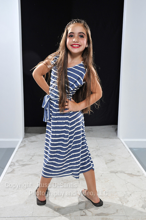 Hailey Natenzon poses at Fashion Classes of New Jersey in Morganville on Friday, August 1, 2014. / ©Russ DeSantis Photography and Video, LLC