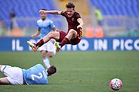 Wesley Hoedt Lazio, Alessandro Florenzi Roma <br /> Roma 03-04-2016 Stadio Olimpico Football Calcio Serie A 2015/2016 Lazio - AS Roma Foto Andrea Staccioli / Insidefoto