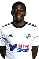 Harrison Manzala of Amiens during the pre season Photoshoot on July 14, 2017 in Cambon, France. (Photo by Amiens/Icon Sport)