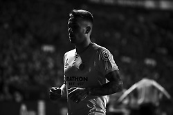 January 4, 2019 - Valencia, Spain - Aleix Garcia  of Girona FC  during  spanish La Liga match between Levante UD vs Girona FC  at Ciutat de Valencia  Stadium on January  4, 2018. (Photo by Jose Miguel Fernandez/NurPhoto) (Credit Image: © Jose Miguel Fernandez/NurPhoto via ZUMA Press)