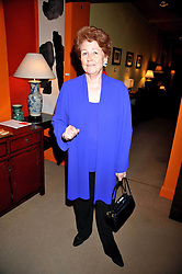 LADY ELIZABETH ANSON at a party to celebrate the publication of Joth Shakerley's book 'Pregnant Women' held at 598a Kings Road, London SW6 on 20th May 2009.