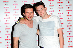 "Dynamo: Magician Impossible series 3. <br /> Danny Howard & Scott Mills attends the launch party of Dynamo: Magician Impossible series 3, Held at ""Pulse"" Blackfriars, <br /> London, United Kingdom<br /> Tuesday, 9th July 2013<br /> Picture by Chris Joseph / i-Images"