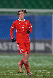 CESENA, ITALY - Tuesday, January 22, 2019: Wales' Helen Ward during the International Friendly between Italy and Wales at the Stadio Dino Manuzzi. (Pic by David Rawcliffe/Propaganda)