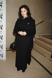 NIGELLA LAWSON at 'Figures of Speech' a fundraising gala dinner in aid of the ICA held at the Lawrence Hall, Greycoat Street, London on 27th February 2008.<br /><br />NON EXCLUSIVE - WORLD RIGHTS