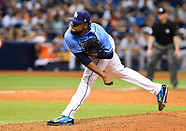 New York Yankees v the Tampa Bay Rays 2 April 2017