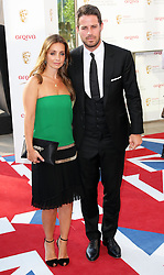 Jamie and Louise Redknapp arriving at the British Academy Television Awards in London, Sunday , 27th May 2012.  Photo by: Stephen Lock / i-Images