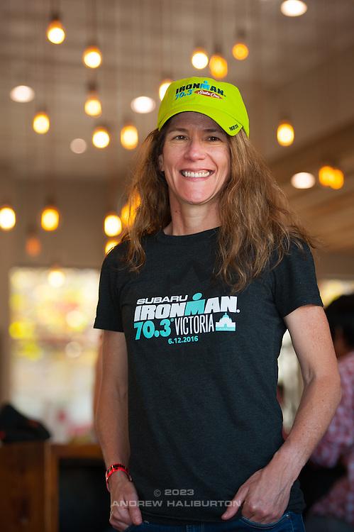 "2016 Ironman 70.3 Santa Cruz ""Big Kahuna"" triathlon, Depot Park, Santa Cruz, California."