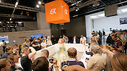 Photokina in Cologne ist the World's biggest bi-annual photo fair. Sony Alpha.