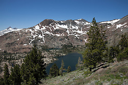 """Half Moon Lake 2"" - Photograph of Half Moon Lake in the Tahoe Desolation Wilderness. Alta Morris Lake can also be seen in the distance."