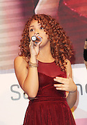 13.DECEMBER.2012. LONDON<br /> <br /> ALEXIS JORDAN PERFORMING AT THE SAMSUNG SMART TV ANGRY BIRDS ALL STARS FINAL AT WESTFIELD SHOPPING CENTRE IN STRATFORD.<br /> <br /> BYLINE: EDBIMAGEARCHIVE.CO.UK<br /> <br /> *THIS IMAGE IS STRICTLY FOR UK NEWSPAPERS AND MAGAZINES ONLY*<br /> *FOR WORLD WIDE SALES AND WEB USE PLEASE CONTACT EDBIMAGEARCHIVE - 0208 954 5968*