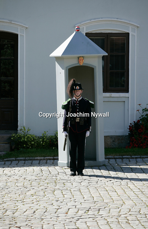 Oslo Norge 2006 07<br /> Kungliga h&ouml;gvakten vid<br /> Akershus f&auml;stning<br /> <br /> ----<br /> FOTO : JOACHIM NYWALL KOD 0708840825_1<br /> COPYRIGHT JOACHIM NYWALL<br /> <br /> ***BETALBILD***<br /> Redovisas till <br /> NYWALL MEDIA AB<br /> Strandgatan 30<br /> 461 31 Trollh&auml;ttan<br /> Prislista enl BLF , om inget annat avtalas.