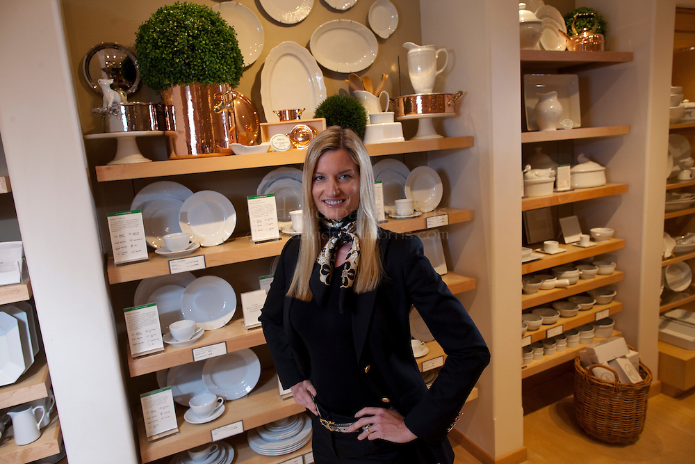 CORTE MADERA, CA - AUGUST 5:  Laura Alber, president, ceo and director of WIlliams-Sonoma, Inc., poses for a photo in the Willams-Sonoma store August 5, 2010 in Corte Madera, California. Photograph by David Paul Morris