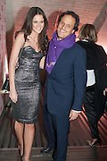 KIM JOHNSON; ARUN NAYAR, Valentino: Master of Couture - private view. Somerset House, London. 28 November 2012