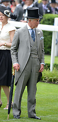 HRH The PRINCE OF WALES at Day 1 of the 2013 Royal Ascot Racing Festival at Ascot Racecourse, Ascot, Berkshire on 18th June 2013.