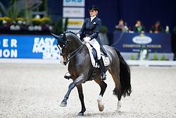 Roth, Stella Charlott (GER), Rubin Action<br /> München - Munich Indoors 2016<br /> Grand Prix de Dressage<br /> © www.sportfotos-lafrentz.de / Stefan Lafrentz