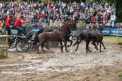 Von Stein Georg, GER, Desperado, Fax 53, Mokka, Playboy, Zindgraaf<br /> FEI European Driving Championships - Goteborg 2017 <br /> © Hippo Foto - Dirk Caremans<br /> 26/08/2017,