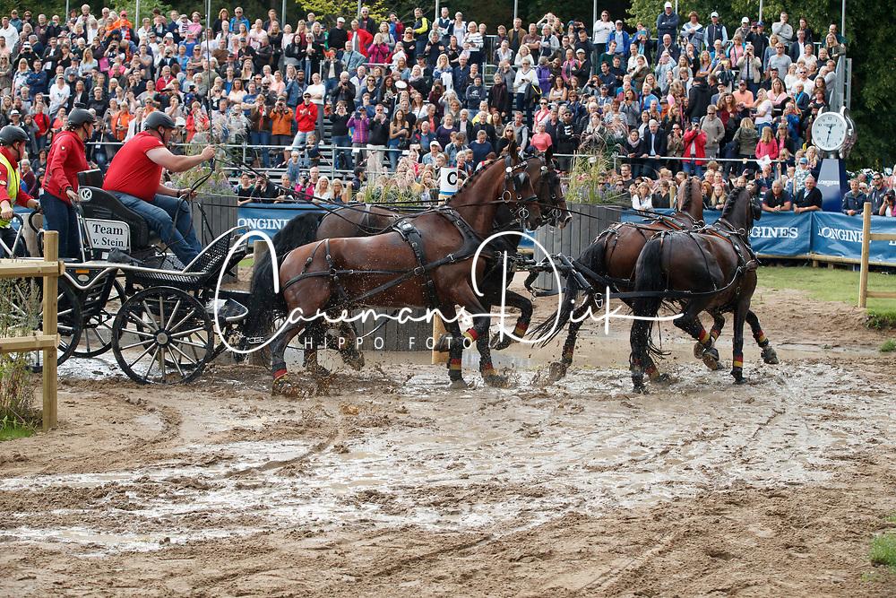 Von Stein Georg, GER, Desperado, Fax 53, Mokka, Playboy, Zindgraaf<br /> FEI European Driving Championships - Goteborg 2017 <br /> &copy; Hippo Foto - Dirk Caremans<br /> 26/08/2017,