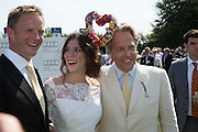 RUPERT PENRY-JONES; ANNA FRIEL; THE EARL OF MARCH, Glorious Goodwood. Thursday.  Sussex. 3 August 2013